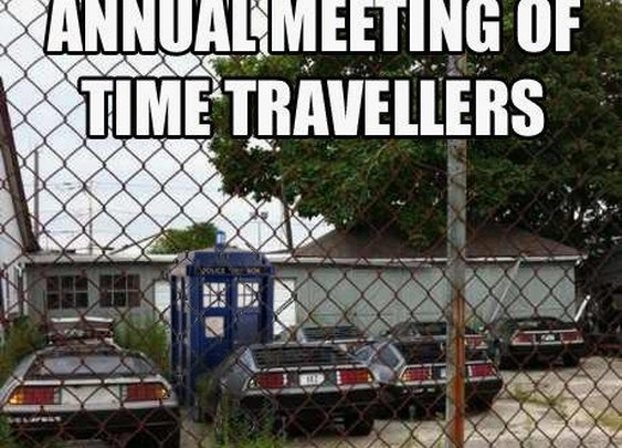 Annual Time Travellers Meeting - Imgur