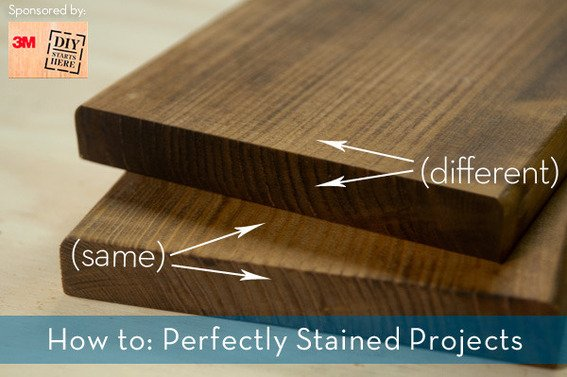 The Simple Trick to Evenly Stained Woodworking Projects