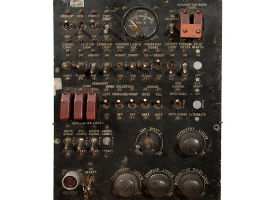 WWII Bomber plane panel