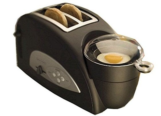 Toaster With Egg Poacher