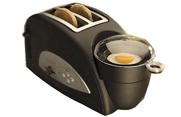 Toaster With Egg Poacher