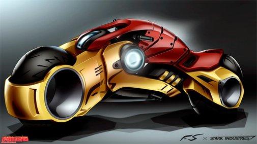 Iron Man-TRON Lightcycle ConceptDesign