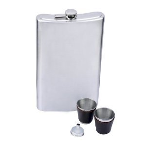 Giant Flask - Stainless Steel 64 oz: Amazon.com: Kitchen & Dining