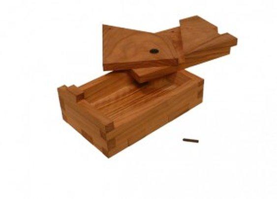 UnaBox Wooden Puzzle Box