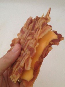 The Bacon Weave Grilled Cheese Sandwich