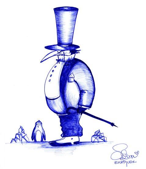 Penguin by Selina Enriquez