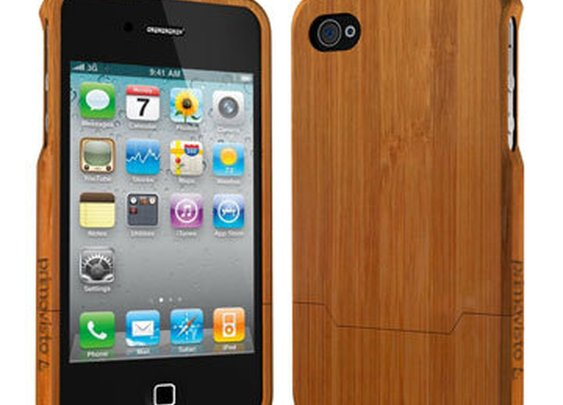 Wood/Bamboo iPhone 4/4S Case
