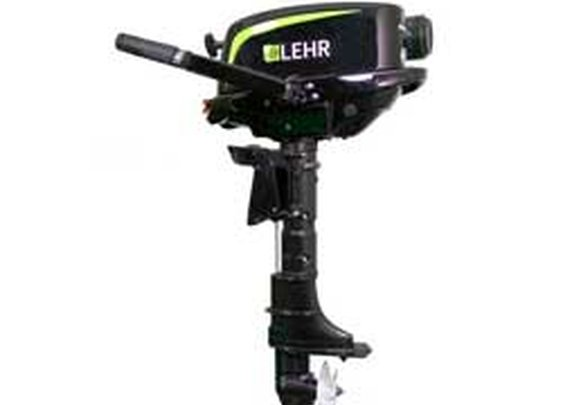 5HP propane-powered outboard motor by LEHR