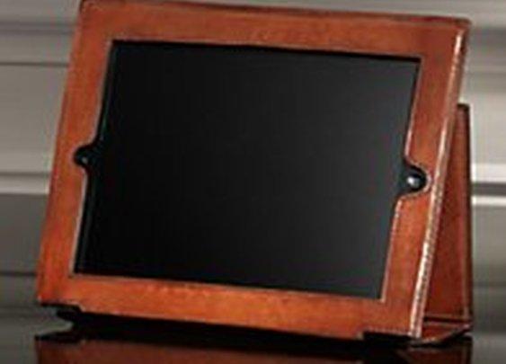 Artisan Leather iPad® Cover Chestnut | Office & Storage | Restoration Hardware