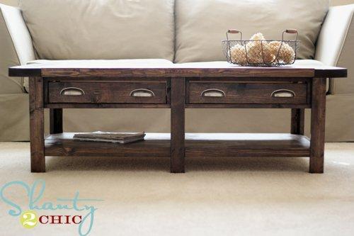 DIY Pottery Barn Inspired Benchwright Coffee Table Gentlemint - Pottery barn benchwright end table