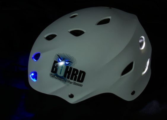 Light Bohrd LED skateboards and helmets light up your longboarding