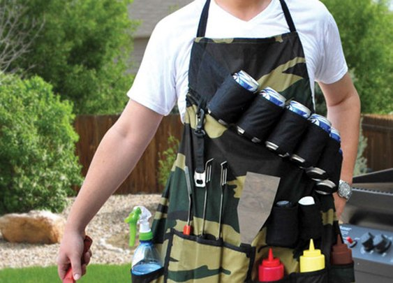 Grill Sergeant Apron Has Pockets For Everything You Need