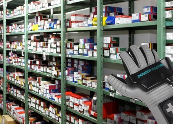 Vibrating glove could direct users to items within stores