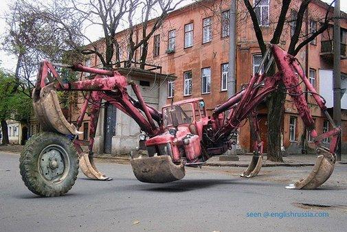 Spider Tractor