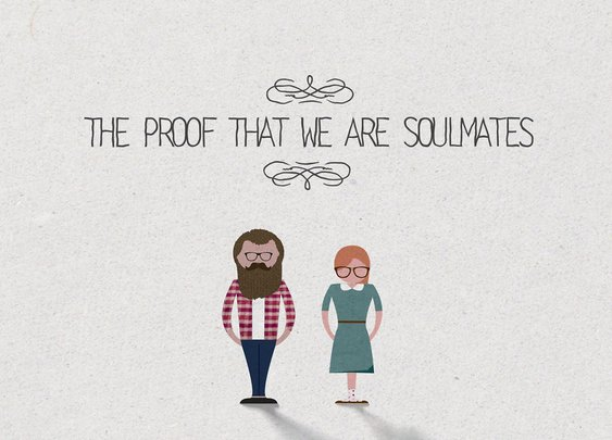 The proof that we are soulmates | Video | 1:48