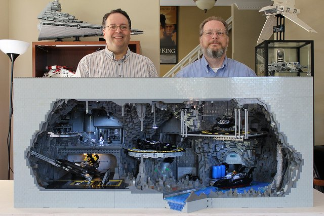 Incredible LEGO Batcave Built Out of Over 20,000 Pieces