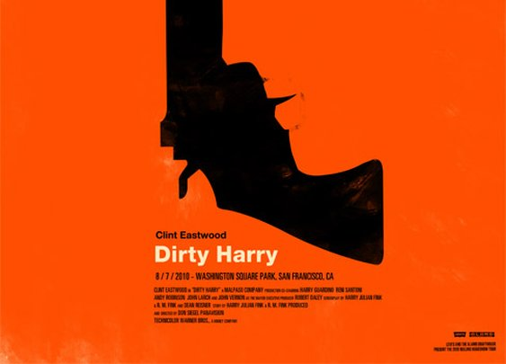 Dirty Harry Poster: Found on The Matboard