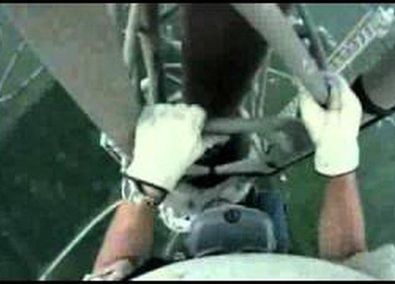 massive climb up antenna station - YouTube