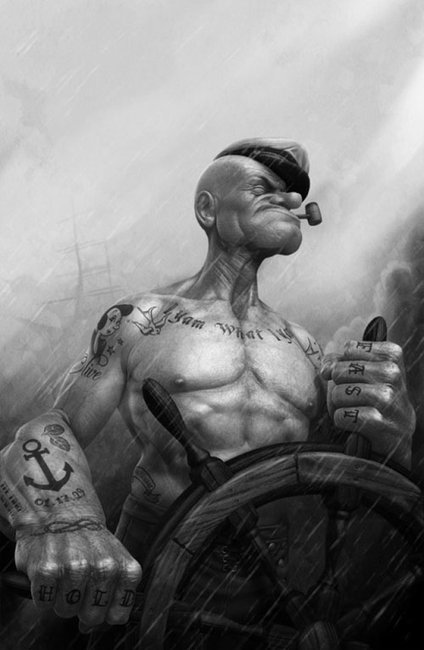 Modernized Popeye