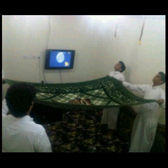 Win Felix jumped, Saudi guys where doing this
