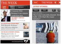The Week iPhone App and exclusive partner Coutts