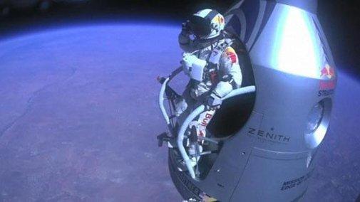 Skydiver Breaks Sound Barrier - ESPN Video - ESPN