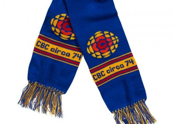 CBC 70s Knit Scarf