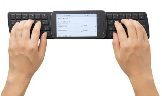 Japan Trend Shop | Elecom NFC Android Keyboard