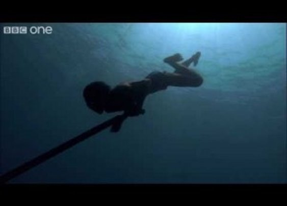 Sea Bed Hunting On One Breath – Human Planet: Oceans, preview – BBC One