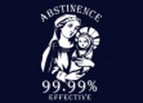 Abstinence, 99.99% Effective T-Shirt   SnorgTees