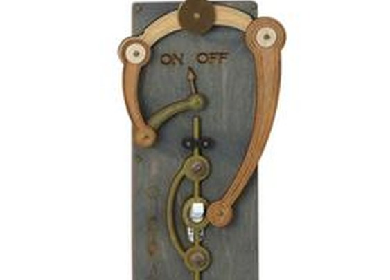 Edison Toggle Switch Plate