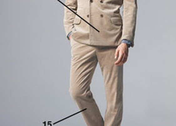 The complete guide to suits: 57 rules of style.