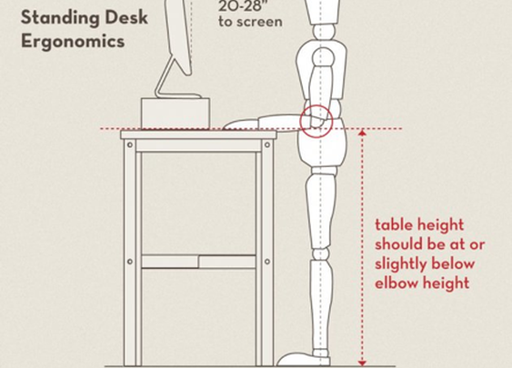 6 DIY Standing Desks - Bob's Blogs