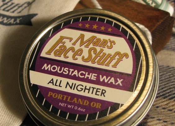 All Night Moustache Protection