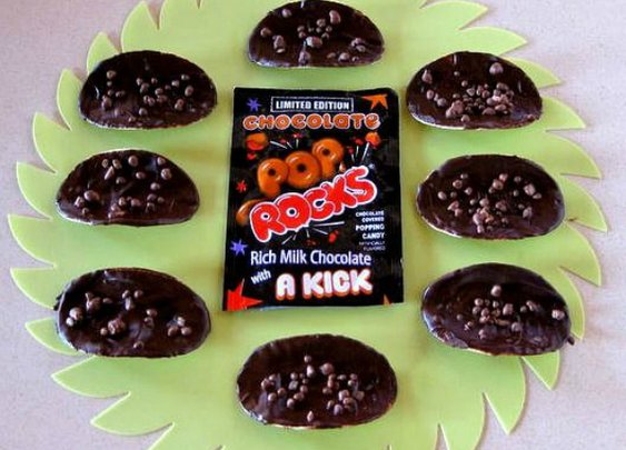 Here's How to Make Chocolate Pop Rocks Potato Chips, For a Fireworks Show of Flavor in Your Mouth  |  Foodbeast