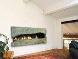 by CF + D custom fireplace design