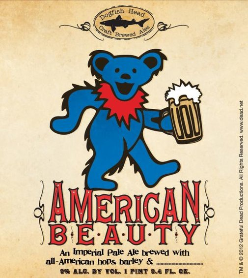 Dogfish Head Collaborates with Grateful Dead to Create American Beauty Beer