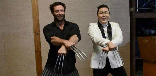 Wolverine loves Gangnam Style
