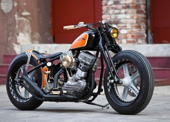 Harley-Davidson 'The Flying Panhead' | Thunderbike Customs|Moto Rivista