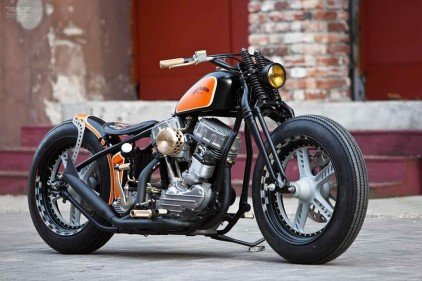 Harley-Davidson 'The Flying Panhead' | Thunderbike Customs | Moto Rivista