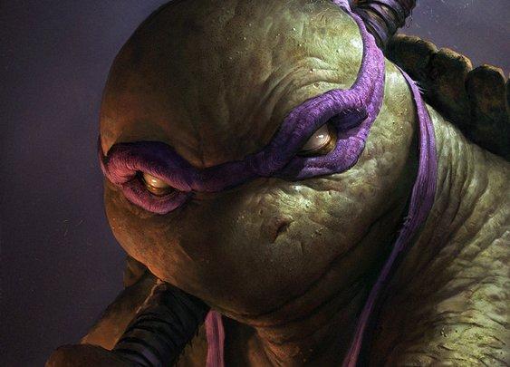 Realistic Portraits of the Teenage Mutant Ninja Turtles