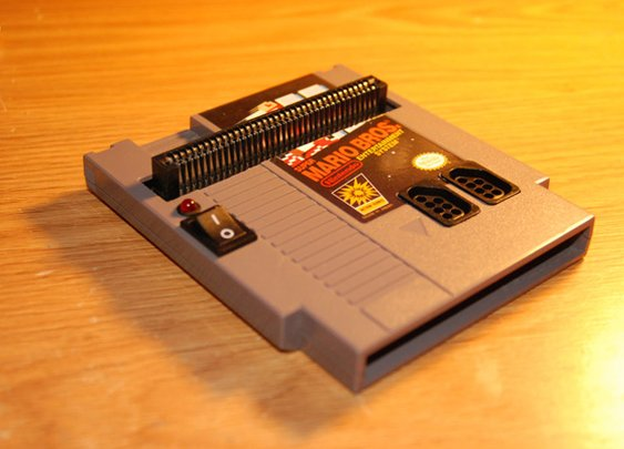 NES Inside an NES Cartridge [DIY]