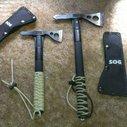 SOG Fasthawk and Tomahawk.