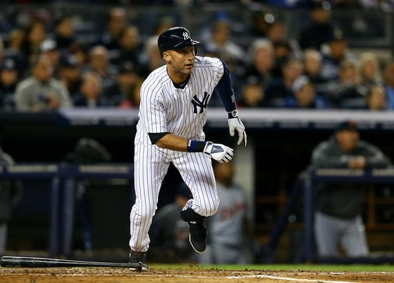 No Derek Jeter For The Yankees ~ The Guys Corner