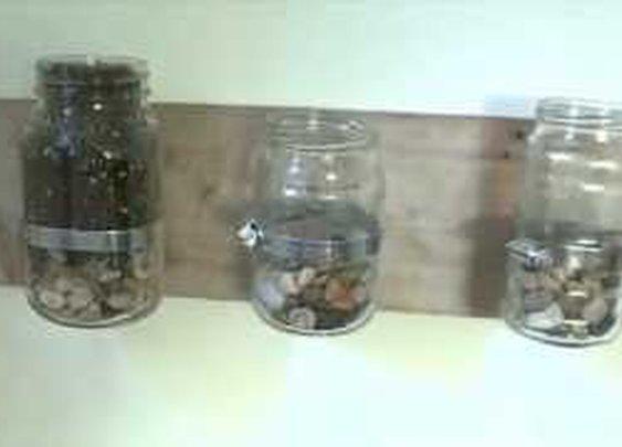 How to build indoor Jar Planters - YouTube