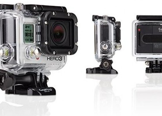 GoPro launches HERO3 line of actioncams, including a 4K model
