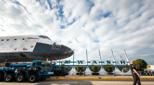 A Time-Lapse Film of the Space Shuttle Endeavour Weaving its Way Through Los Angeles