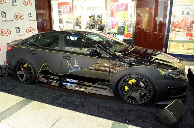 Kia Creates Their Own Take On The Batmobile