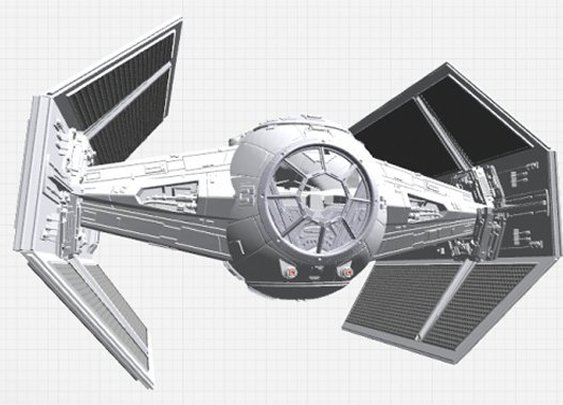 Get Up Close and Personal with Darth Vader's TIE Fighter