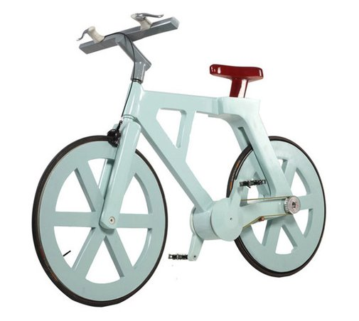 A Bicycle Made of Cardboard?